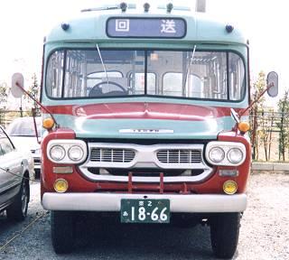 サイト開設当時の表紙を飾っていたボンネットバス