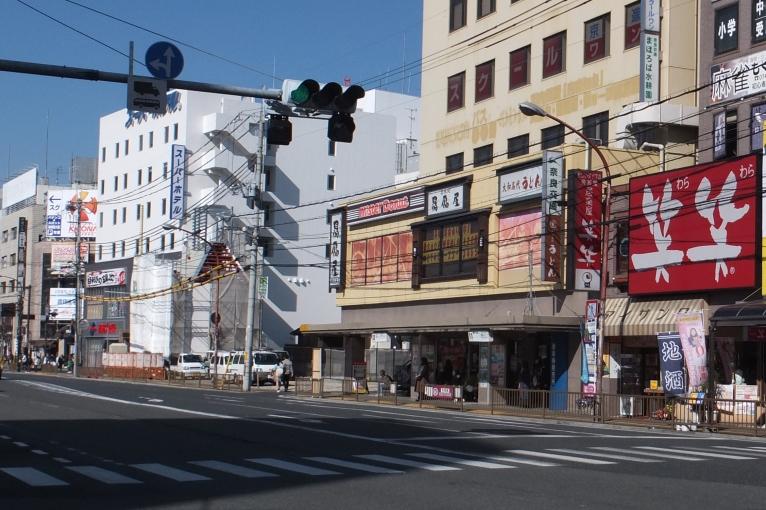 JR奈良駅東口旧11・12のりば