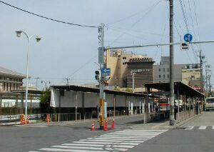 1~7番のりば(2004年4月)