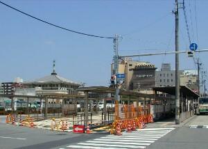 1~7番のりば(2004年8月)