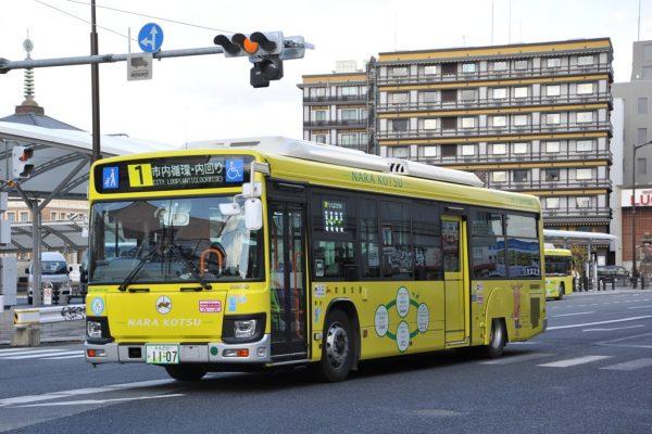 市内循環ハイブリッドバス
