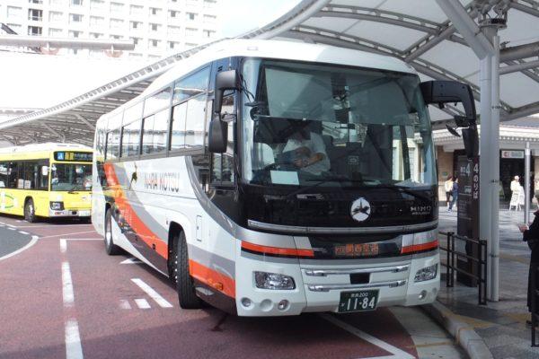 2019年9月に導入されたリムジンバス車両(日野セレガ)